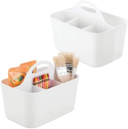 Juego De 2 Cajas Organizadoras Plasticas