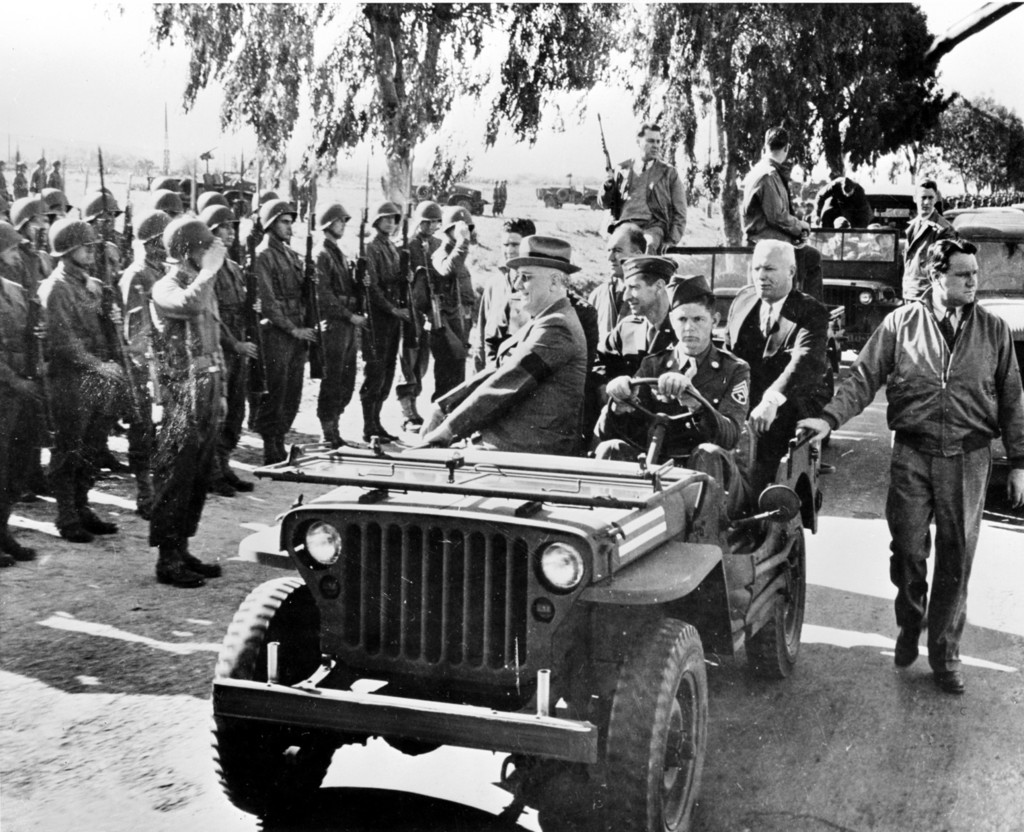 Roosevelt Casablanca 1943