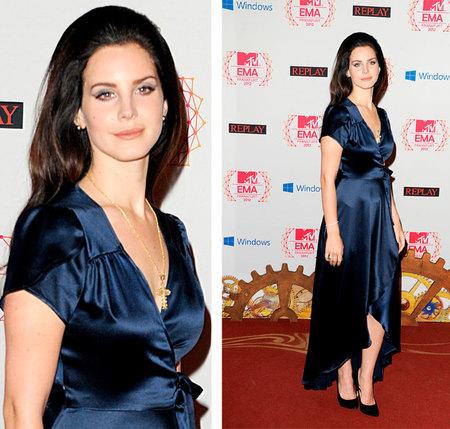 Lana del Rey MTV EMAS 2012