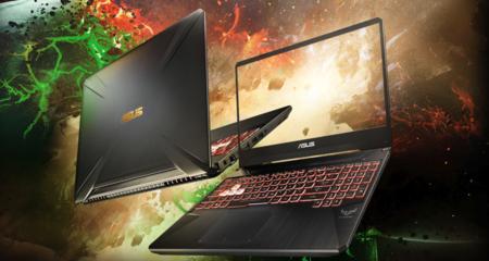 Este portátil Asus TUF Gaming FX505DV es un chollo por potencia, equilibrio y precio y está rebajadísimo en PcComponentes