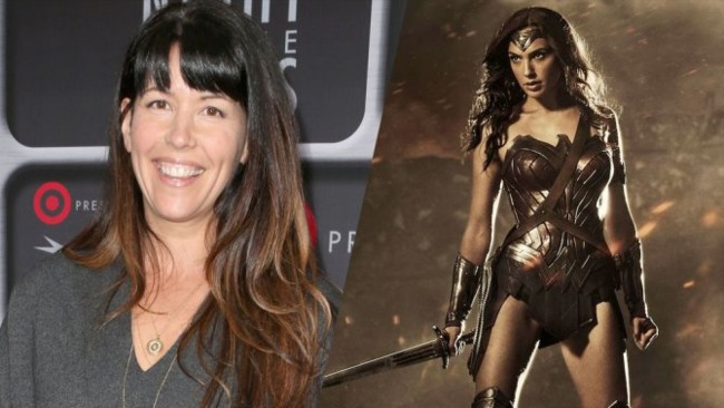 Patty Jenkins y Wonder Woman