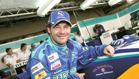 Jacques Villeneuve prueba de todo. Ahora volverá a Brasil y Argentina