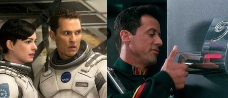 Las 11 mejores películas para ver gratis en abierto este fin de semana (18-20 diciembre): 'Interstellar', 'Demolition Man' y más