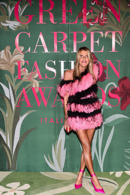 Anna dello Russo green carpet fashion awards 2019
