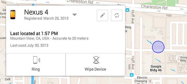 Ya disponible la web de Android Device Manager para localizar smartphones perdidos