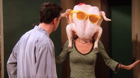 Los momentazos de las 10 cenas de acción de gracias de 'Friends'