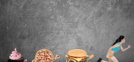 Correr hoy no compensa la comida basura que comiste ayer