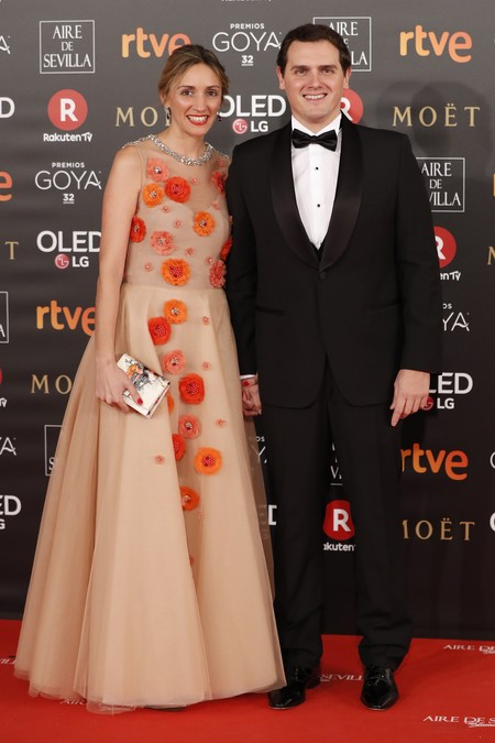 Albert Rivera And Beatriz Tajuelo