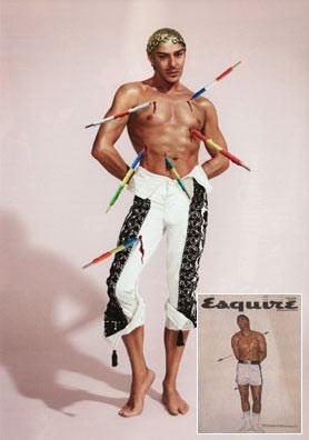 Los diseñadores celebran el 75 aniversario de Esquire