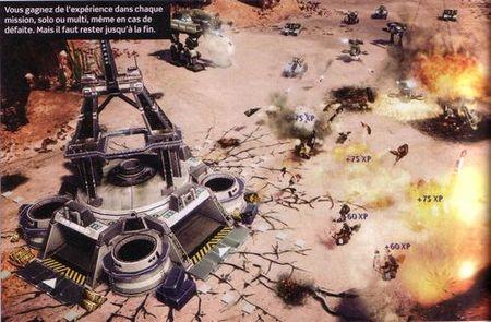 Command & Conquer 4 - Experiencia