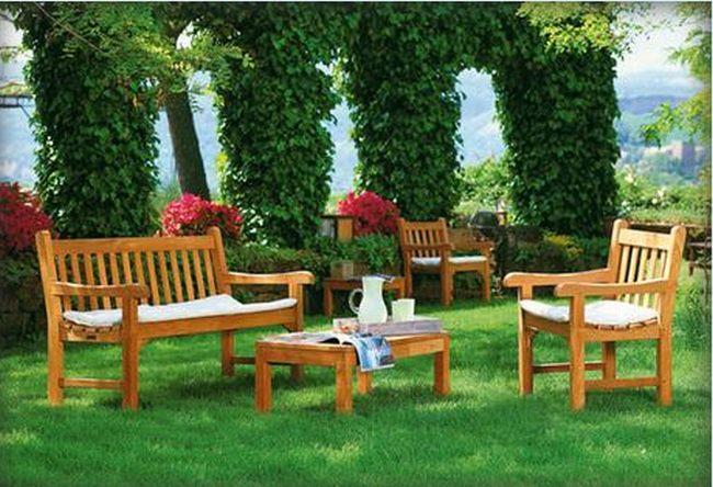 El rat n es para el verano prepara tus muebles de madera - Muebles de madera de jardin ...