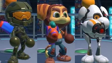 El Jefe Maestro, Ratchet y P-Body desfilan en los nuevos tráileres de Super Bomberman R