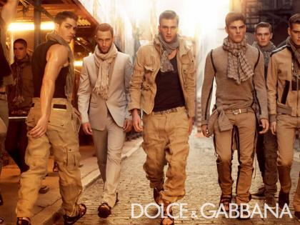 Dolce&Gabbana Hombre Primavera/Verano 2008