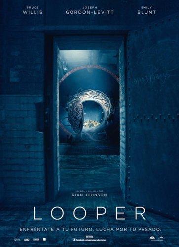 El cartel español de Looper