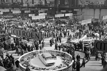 Salón del Automóvil de París, 1955