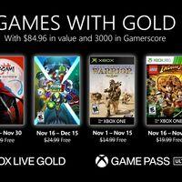 Aragami: Shadow Edition y LEGO Indiana Jones entre los juegos de Games with Gold de noviembre de 2020