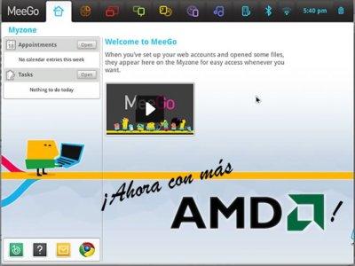 AMD se une a MeeGo, y le hace compañía a Nokia y a Intel
