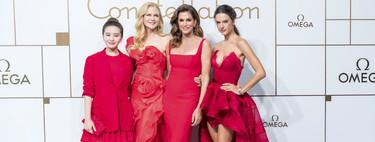 La constelación de Omega se viste de rojo con Nicole Kidman, Cindy Crawford y Alessandra Ambrosio