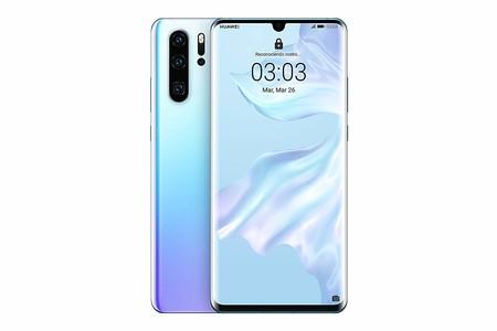 "Huawei P30 Pro - Smartphone de 6.47"" (Kirin 980 Octa-Core de 2.6GHz, RAM de 8 GB, Memoria interna de 256 GB, cámara de 40 MP, Android) Color Nácar [Versión española]"