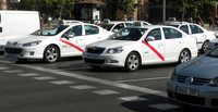 La huelga de los taxistas en Europa ha venido de perlas a Uber