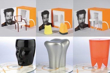 Miniaturas de los muebles de Philippe Starck