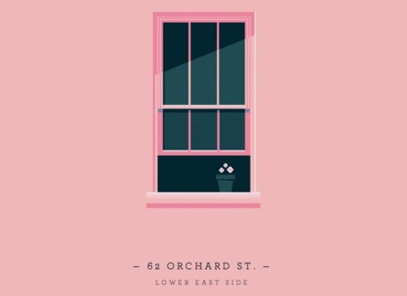 ventana rosa