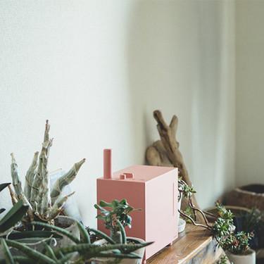 Este humidificador de aire, con su toque retro, es una buena idea útil y decorativa para la próxima época de calor