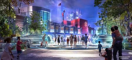'Marvel Land' empieza a tomar forma: Disney ya tiene los permisos para su próxima gran expansión de su parque en California