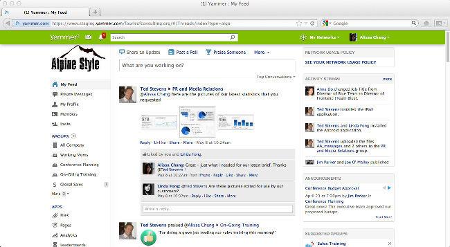 Microsoft potencia Yammer como herramienta social en la empresa