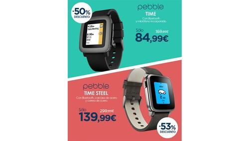 Black Friday: en Macnificos, tienes los Pebble Time y Pebble Time Steel a precios irresistibles