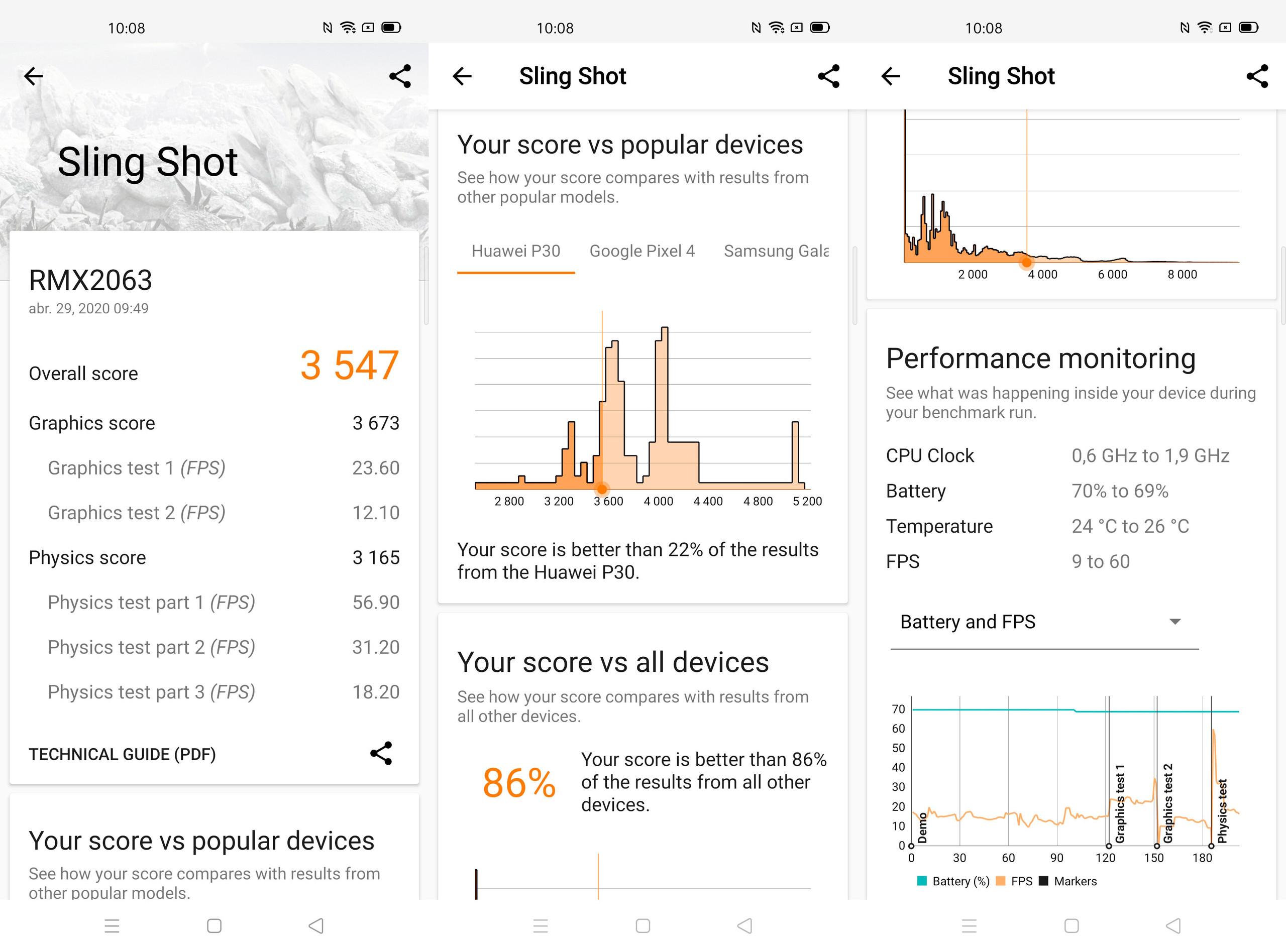 Foto de Realme 6 Pro, benchmarks (1/6)