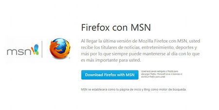 Portal Firefox MSN