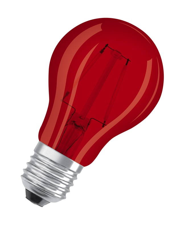 Led Classic A Deco Red