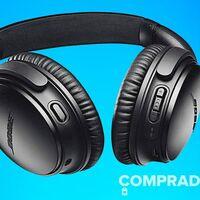 A precio de locura. Amazon y Fnac tienen los auriculares de gama alta Bose QuietComfort 35 II más baratos que nadie por 182 euros