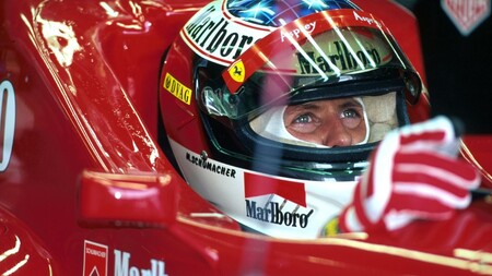 Schumacher Ferrari F1 1998