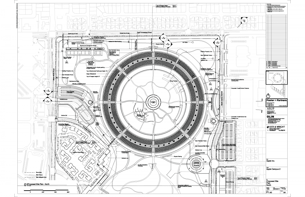 Foto de Proyecto original del nuevo campus de Apple (18/27)