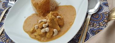 La mejor receta de pollo al curry con Thermomix (que es también la más fácil y rápida)
