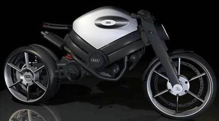¿Una moto Audi?
