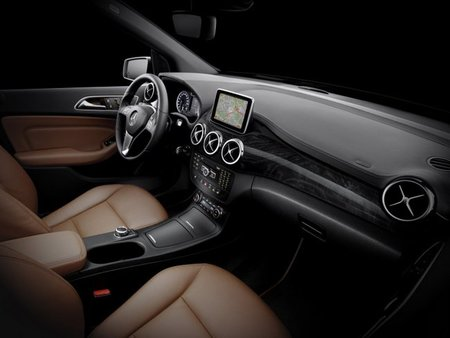 Así será por dentro el nuevo Mercedes-Benz Clase B