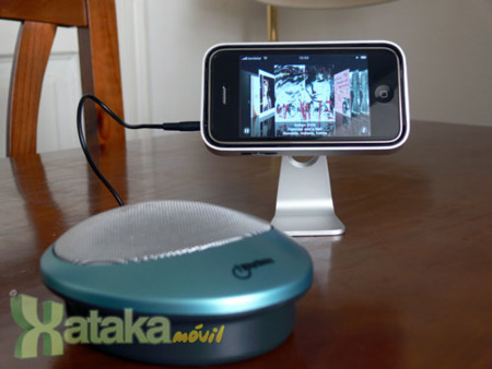 Altavoz portátil para móviles de iRhythms