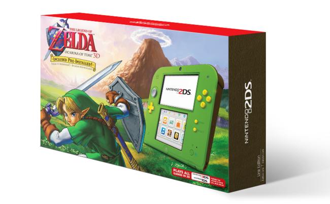 Zelda Ocarina Of Time 3d Nintendo 2ds Edition