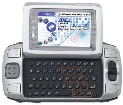 HipTop, móvil que guarda la información en un servidor