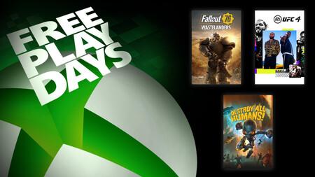 Fallout 76, UFC 4 y Destroy All Humans! están para jugar gratis en Xbox One con Xbox Live Gold