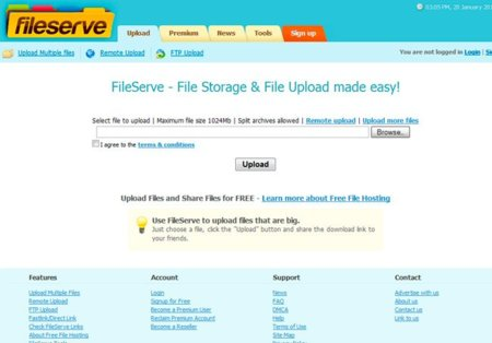 Fileserve reacciona y deja de pagar a los uploaders