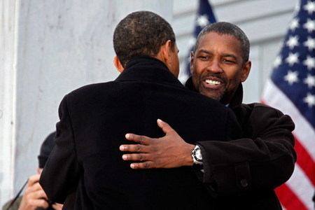 Denzel Washington será Barack Obama