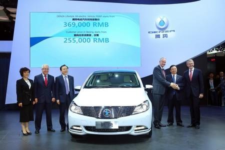 El Denza EV desvela en Pekín 300 kilómetros de autonomía desde 29.000 euros sólo para China