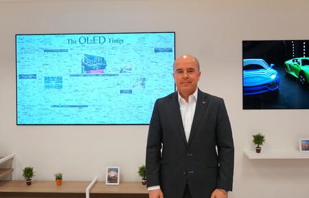 """""""Todo el mundo tiene una pared en su casa de más de 120 pulgadas"""", Jaime de Jaraiz, presidente de LG España"""