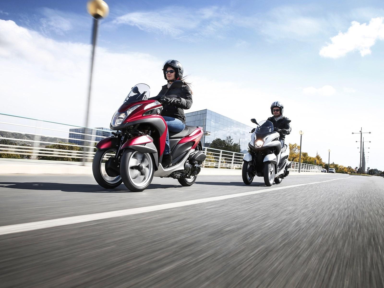Foto de Yamaha Tricity 125 cc acción (5/21)