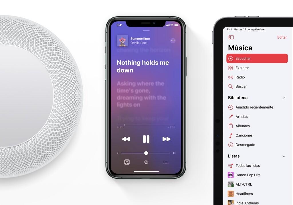 Apple Music Dolby Atmos es semenjante con todos los AirPods, algunos Beats y audífonos de terceros