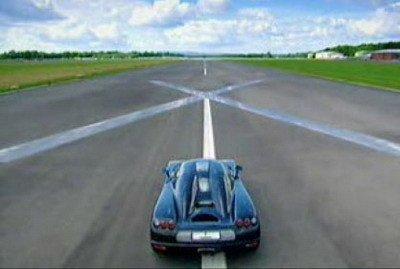 Probando el Koenigsegg